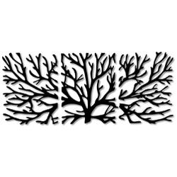 Kit Esculturas de Parede Árvores - Q! Bacana