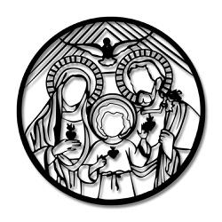 Escultura de Parede Vitral - Q! Bacana