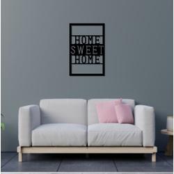 Escultura de Parede Home Sweet Home - Q! Bacana