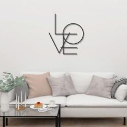 Escultura de Parede Love - Q! Bacana