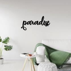 Palavra de Parede Paradise - Q! Bacana