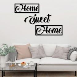 Kit Palavras de Parede Home Sweet Home - Q! Bacana
