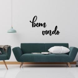 Kit Palavras de Parede Bem Vindo - Q! Bacana