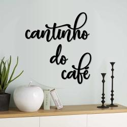 Kit Palavras de Parede Cantinho do Café - Q! Bacana