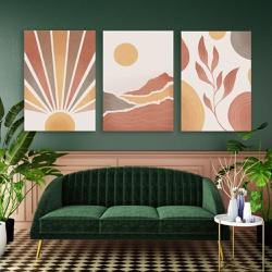 Kit 3 Placas Decorativas Good Vibes - Q! Bacana
