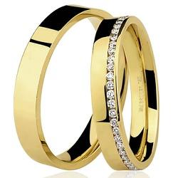 Aliança de Noivado e Casamento - 7500552000 - RDJ JÓIAS