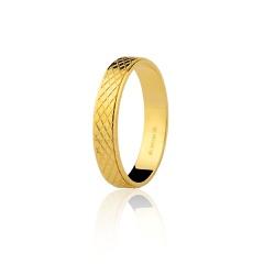 Alianças de Casamento em Ouro 18K - 7501222000 - RDJ JÓIAS