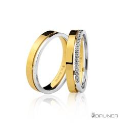 Alianças de Casamento em Ouro 18k Com Brilhantes ... - RDJ JÓIAS