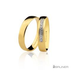 Alianças para noivado em Ouro 18k 0,750 Com Brilha... - RDJ JÓIAS