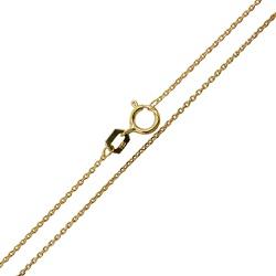 Corrente Cartier Fina em Ouro Maciço 18k - 9801340... - RDJ JÓIAS