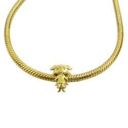 Berloque em Ouro 18k Menina - 98388319 - RDJ JÓIAS