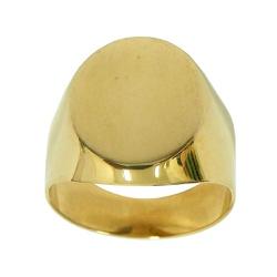 Anel em Ouro 18k Liso - J01200665 - RDJ JÓIAS