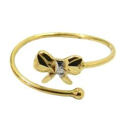 Anel de Falange em Ouro 18k Lacinho - J03001787 - RDJ JÓIAS