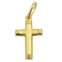 Pingente Cruz em Ouro 18k 0,750 - J03100511 - RDJ JÓIAS