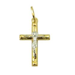 Crucifixo de Ouro 18k 0,750 - J03100555 - RDJ JÓIAS