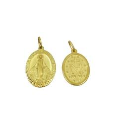 Pingente de Nossa Senhora das Graças em Ouro 18k -... - RDJ JÓIAS