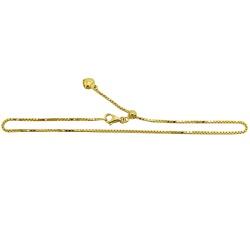 Tornozeleira em Ouro modelo Veneziana com Coração ... - RDJ JÓIAS