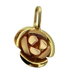 Pingente de Ouro formato de uma Rosa - J06100237 - RDJ JÓIAS