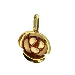 Pingente de ouro Rosa Pequena - J06100238 - RDJ JÓIAS