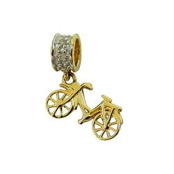 Berloque de bicicleta em Ouro 18K com Brilhantes ... - RDJ JÓIAS