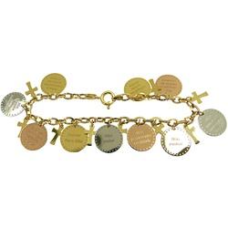 Pulseira 10 Mandamentos em Ouro 18k - J06104078 - RDJ JÓIAS