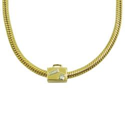 Charm em Ouro 18k Mala - J06104327 - RDJ JÓIAS