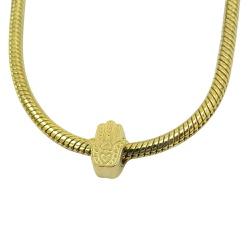 Pingente Pandora em Ouro 18k Mão de Hamsá - J06104... - RDJ JÓIAS