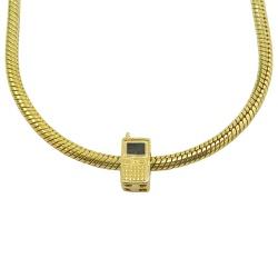 Berloque em Ouro 18k Telefone Celular - J06105233 - RDJ JÓIAS
