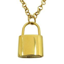 Pingente em ouro 18k Cadeado - J12702902 - RDJ JÓIAS