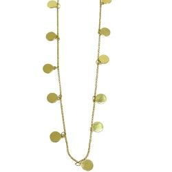 Gargantilha em Ouro 18k Chocker Disco - J18000977 - RDJ JÓIAS