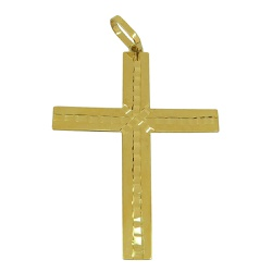 Crucifixo Grande em Ouro 18k 0,750 - J18400726 - RDJ JÓIAS