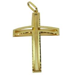Crucifixo em Ouro 18k 0,750 - J18400728 - RDJ JÓIAS