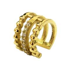 Piercing de Pressão em Ouro 18K - J18900056 - RDJ JÓIAS