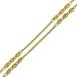 Corrente de ouro 18k Grumet e Gucci 80cm - JC00061... - RDJ JÓIAS