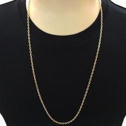 Corrente Masculina de Ouro 18K 70cm - JC0014227-7 - RDJ JÓIAS
