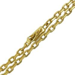 Corrente Masculina Cartier em Ouro 18k 0,750 70cm ... - RDJ JÓIAS