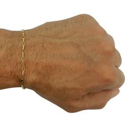 Pulseira em Ouro 18k Masculina Cartier Maciça - JP... - RDJ JÓIAS