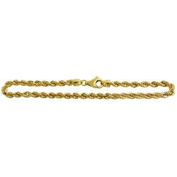 Pulseira de Ouro 18k Corda - JP04700494-5 - RDJ JÓIAS