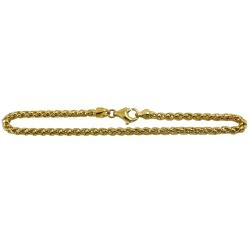 Pulseira em Ouro 18k Design Italiano - JP0480049... - RDJ JÓIAS