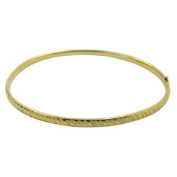 Pulseira em ouro 18k bracelete com trava de segura... - RDJ JÓIAS