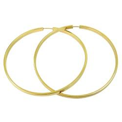 Argola em ouro 18k Grande - JBAR000128-1 - RDJ JÓIAS