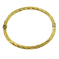 Bracelete Feminino em ouro 18k Grosso - JPB000626- - RDJ JÓIAS