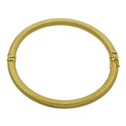 Bracelete em Ouro 18k Fosco - JPB000629-0 - RDJ JÓIAS