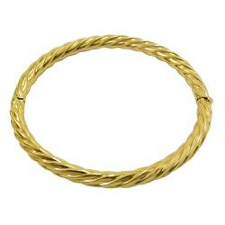 Bracelete em Ouro 18k Fio Torcido - JPB000629-2 - RDJ JÓIAS