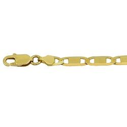 Pulseira Masculina de Ouro 18K Modelo Piastrine 9,... - RDJ JÓIAS