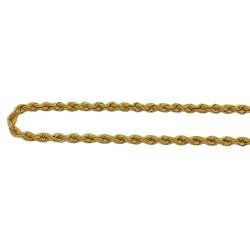 Tornozeleira de Ouro 18k Modelo Corda - jt04800592... - RDJ JÓIAS