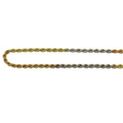 Tornozeleira em Ouro Amarelo, Branco e Rosé - jt04... - RDJ JÓIAS