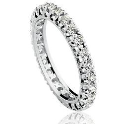 Anel em Ouro Branco 18k com Diamantes de 3 pontos ... - RDJ JÓIAS