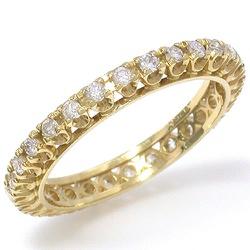 Anel Aparador de Aliança em Ouro com Brilhantes - ... - RDJ JÓIAS