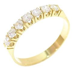Anel de compromisso de Ouro 18K 750 com Diamantes ... - RDJ JÓIAS